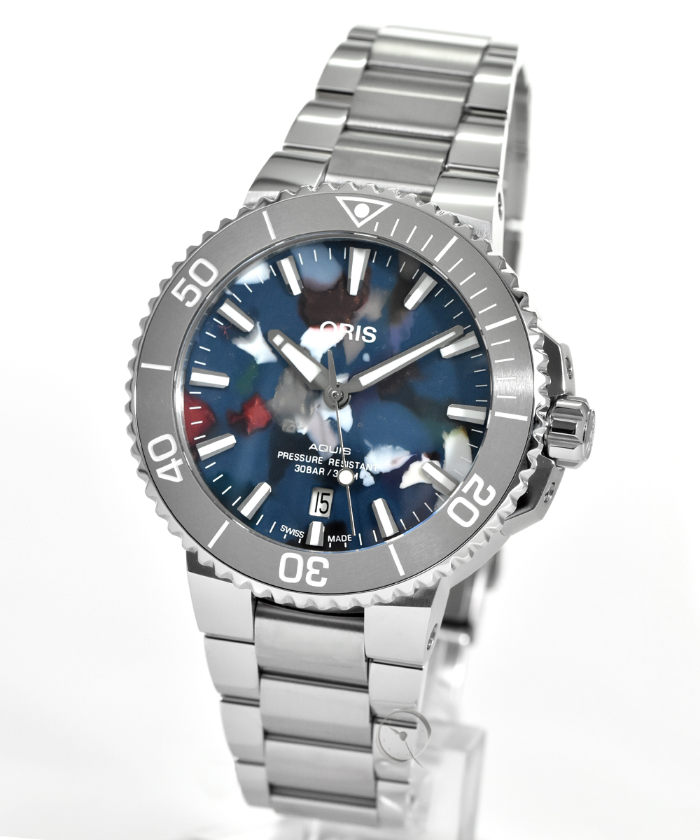 Oris Aquis Date  Upcycle 41,5 mm - 12,5% gespart!*