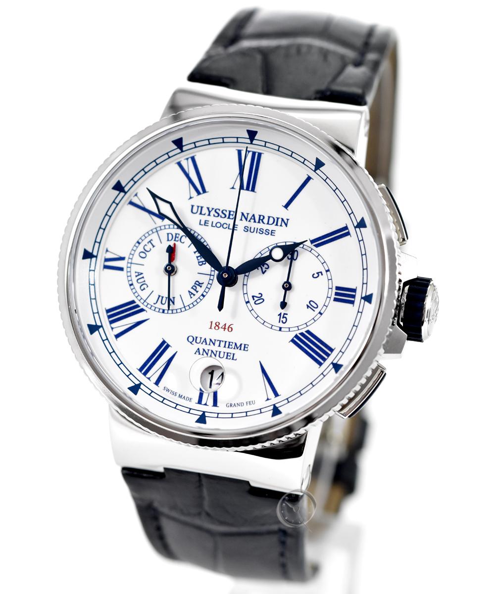 Ulysse Nardin Marine Chronograph - 31% gespart!*