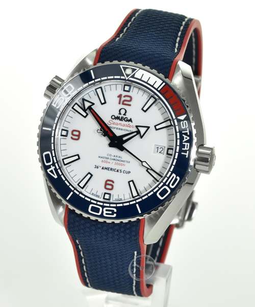 Omega Seamaster Planet Ocean 600M CoAxial Master Chronometer - America's Cup Limited Edition