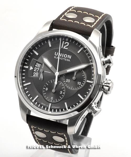 Union Glashütte Belisar Pilot Chronograph - 27.2% gespart!*