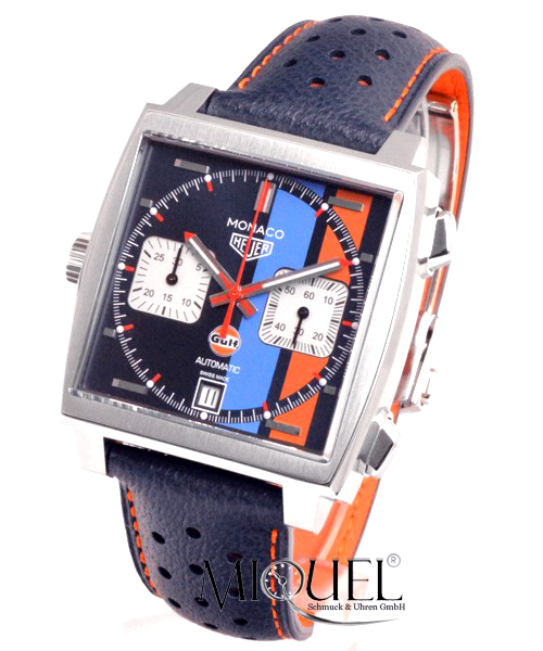 TAG Heuer Monaco Calibre 11 Chronograph GULF Edition - 25% gespart!*