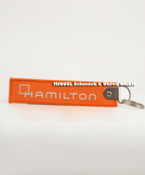 Hamilton Kofferanhänger (Schlüsselanhänger) orange originalverpackt