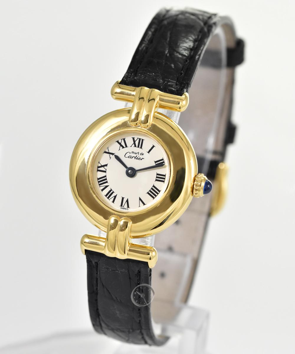 Cartier Colisée Vermeil