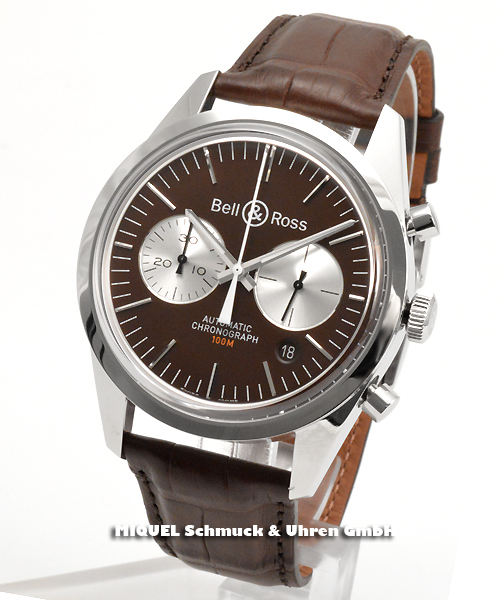 Bell & Ross Vintage Chronograph BR126 Limitierte Edition -  35,5% gespart ! *