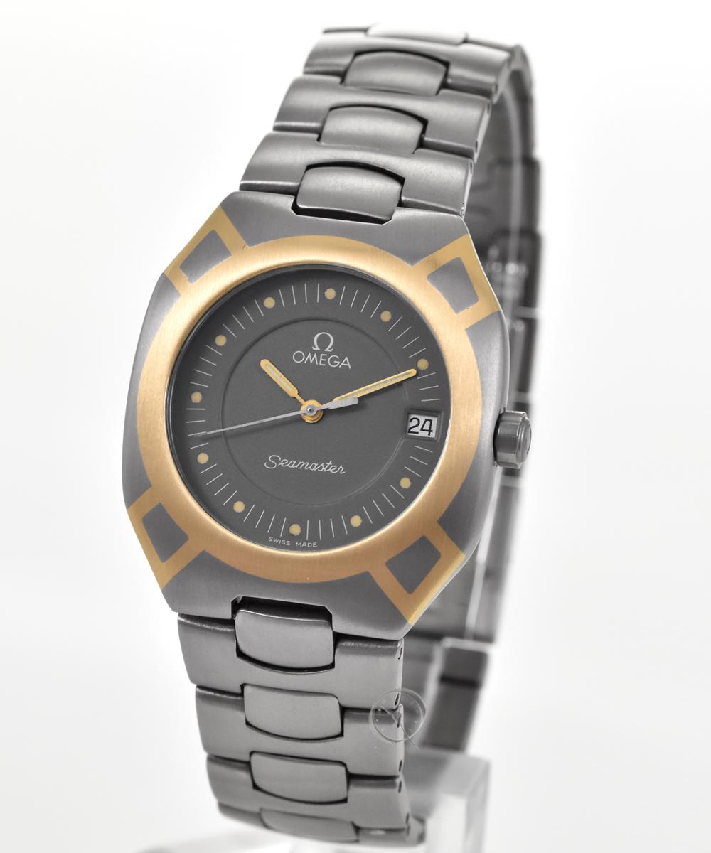 Omega Seamaster Titan mit Goldintarsien