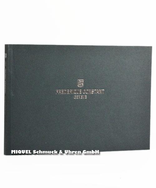 Frederique Constant Booklet