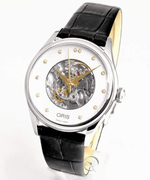 Oris Artelier Skeleton Diamonds - 35% gespart!*