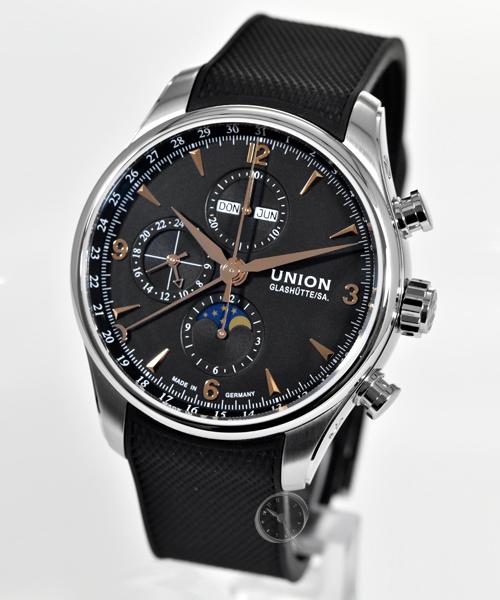 Union Belisar Chronograph Mondphase - 22,9% gespart!*