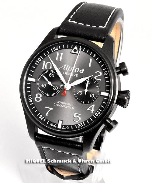 Alpina Startimer Pilot Automatic Chronograph - Limitiert auf 8888 Stück - 37,8 % gespart ! *
