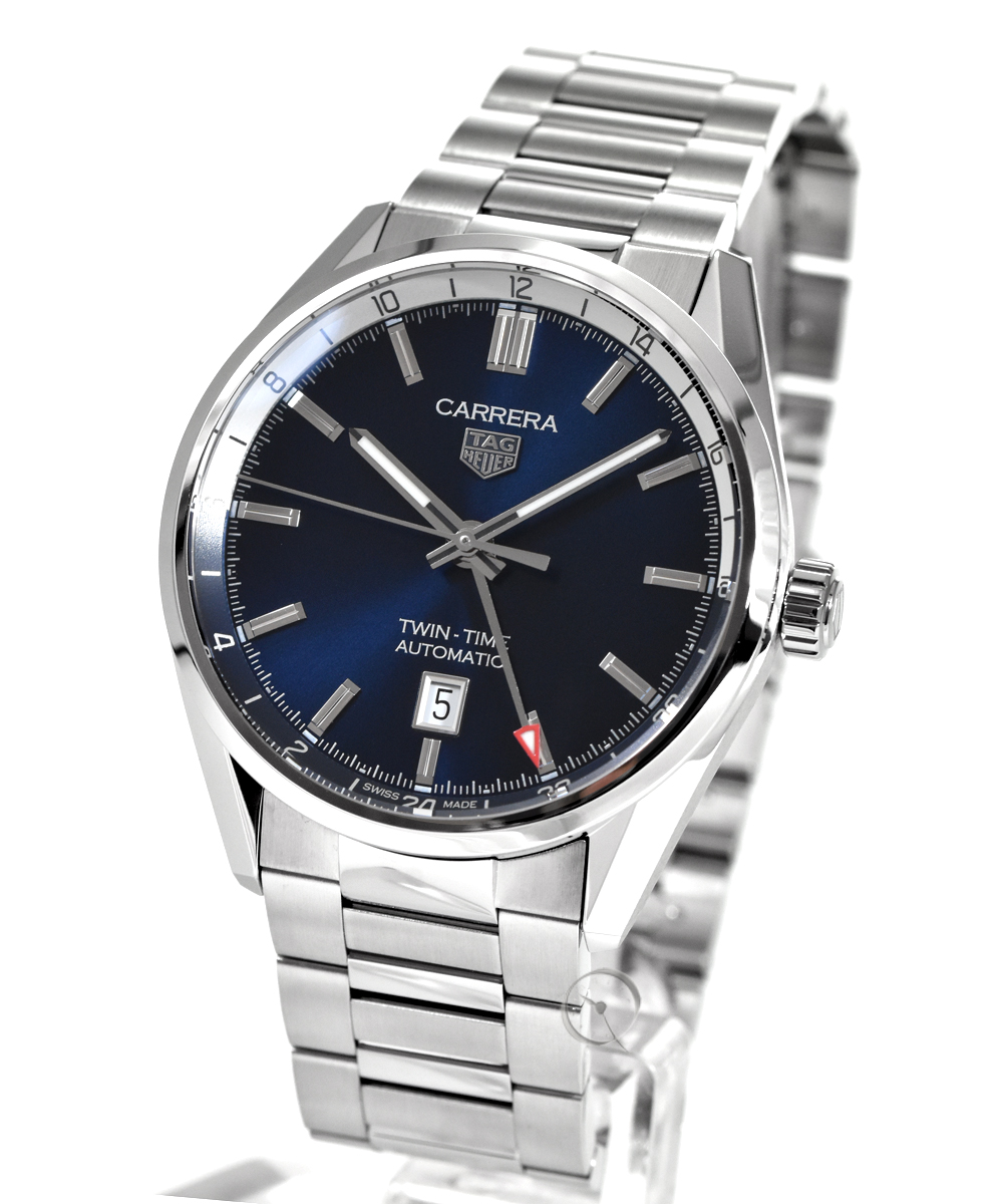 TAG Heuer Carrera Twin Time Cal. 7 -20% gespart!*