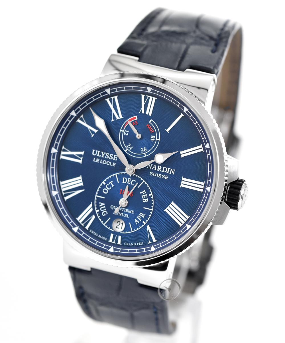 Ulysse Nardin Marine Chronometer Annual Calendar - 36,4% gespart!*