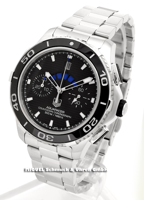TAG Heuer Aquaracer 500m Calibre 72 Countdown Automatik Chronograph - 25,7% gespart*
