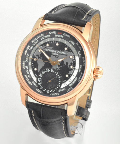 Frederique Constant Manufaktur Worldtimer - Limited Edition - 29,9% gespart!*