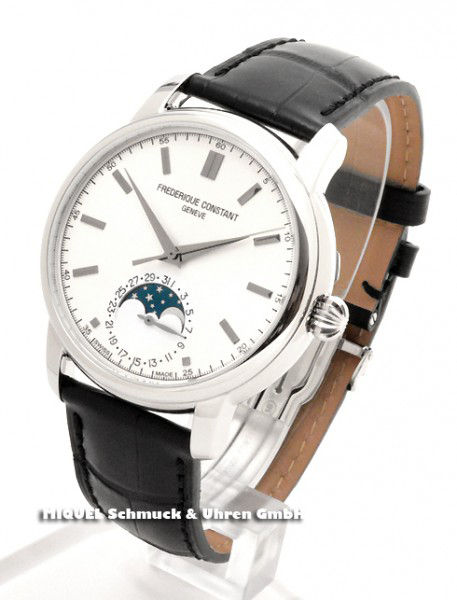 Frederique Constant Manufaktur Slimline Classics Mondphase - 31,2% gespart!*