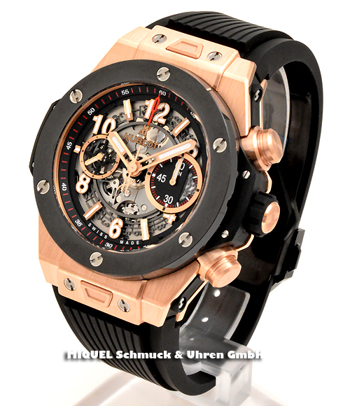 Hublot Big Bang Unico King Gold Ceramic Achtung 25 % gespart ! *