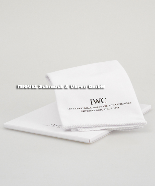IWC Reinigungstuch weiß inkl. Verpackung