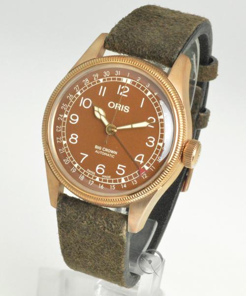 Oris Big Crown Bronze Pointer Date - 20% gespart!*
