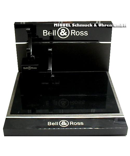 Bell & Ross Dekoschaustück inklusive zwei Uhren Aufsteller