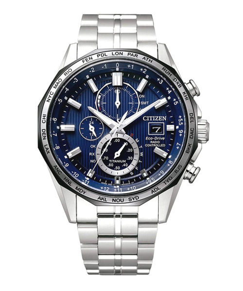 Citizen Elegant Eco Drive Chronograph Radio Controlled