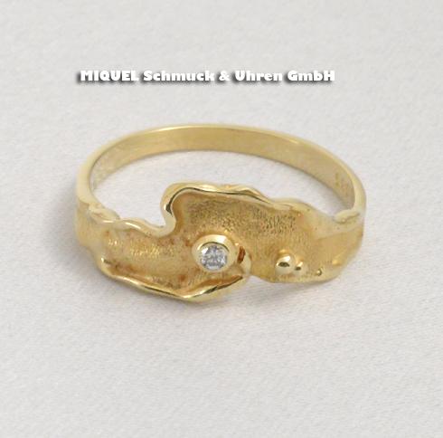 Damen Ring in Gelbgold 14 ct
