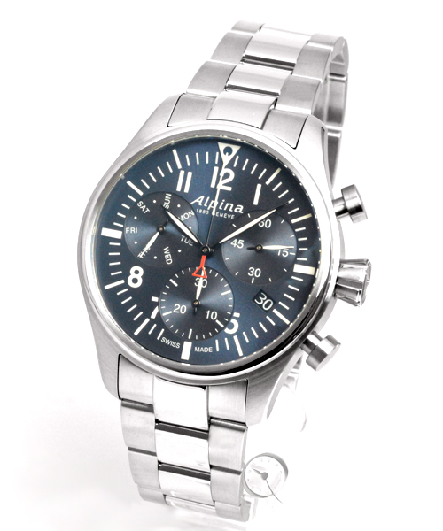 Alpina Startimer Pilot Quartz Chronograph - 37,2% gespart! *