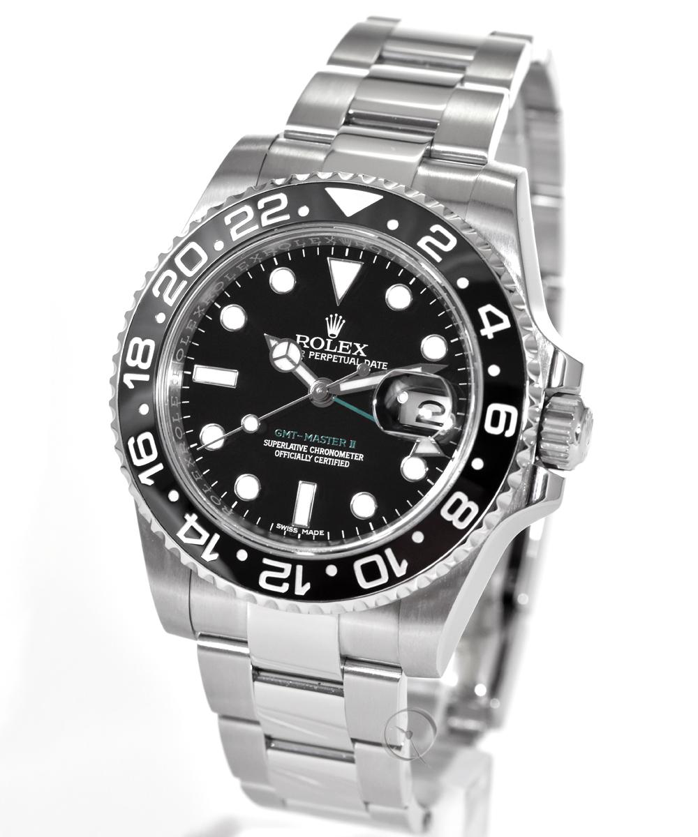 Rolex GMT Master II Ref. 116710LN - LC100