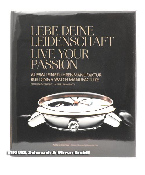 Frederique Constant Buch - Aufbau einer Uhrenmanufaktur