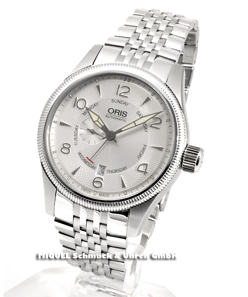Oris Big Crown Small Second - Pointer Day - 19,6% gespart*