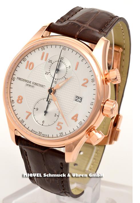 Frederique Constant Runabout Chronograph - Limitiert - 39,2% gespart ! *