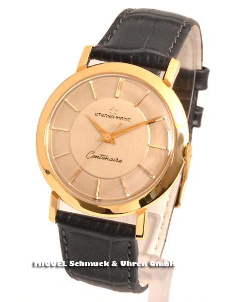 Eterna Matic Centenaire 750/000 Gold - Sehr selten angebotene Uhr