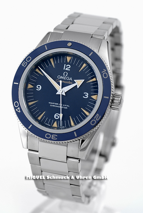 Omega Seamaster 300  Master Co-Axial - 20,3% gespart!*