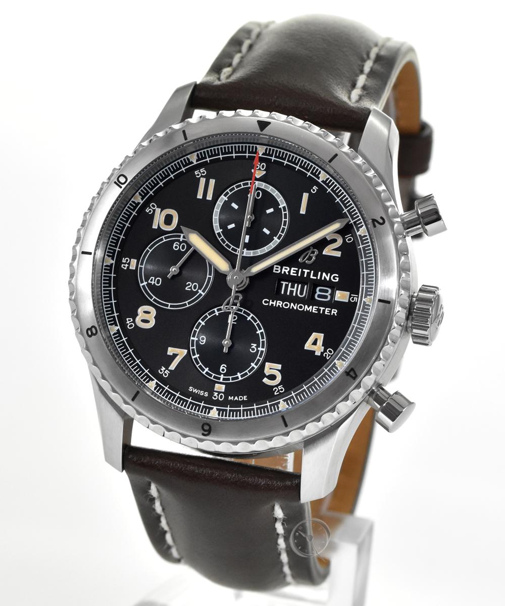 Breitling Aviator 8 Chronograph 43 - 22% gespart!*