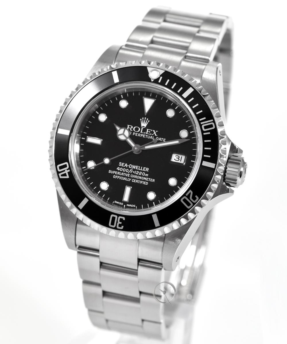 Rolex Oyster Perpetual Date Sea Dweller Ref. 16600 -LC100- unpoliert -Full Set- aus erster Hand!