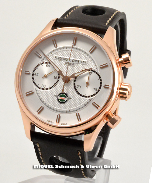 Frederique Constant Vintage Rally Healey Chronograph - 37,9% gespart ! *