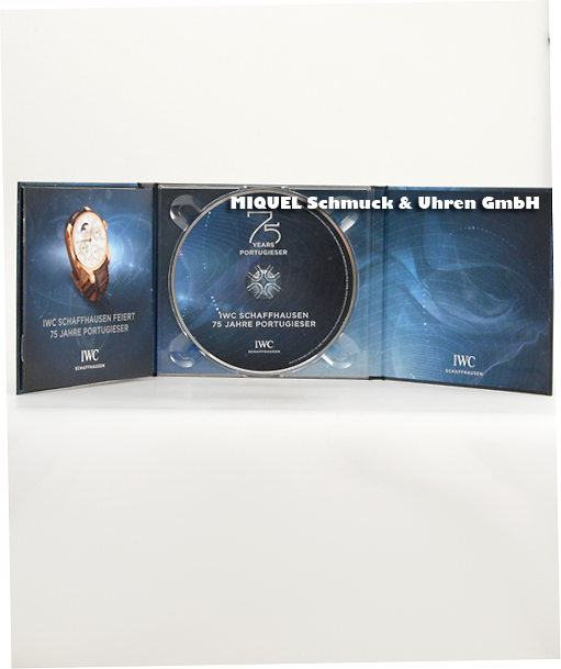 IWC Audio-CD mit Booklet 75 years Portugieser