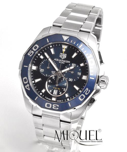 TAG Heuer Aquaracer 300M Quarz Chronograph 43mm -23,3% gespart*