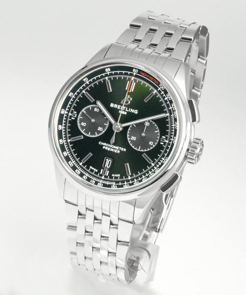 Breitling Premier B01 Chronograph 42 Bentley British Racing Green - 25% gespart!*
